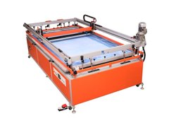 Color Coated Sun Pack Four Pillar Screen Printing Machine 48, Model Name/Number: Fp 4896, 380 V