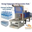 Semi Automatic Water Bottle Shrink Wrapping Machine