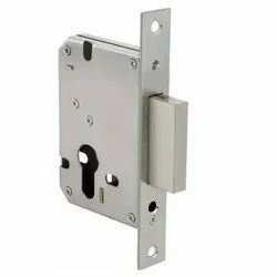 Door Hardware Interior Mortise Lock Body Of 148 Single Bullet Square Latch-28