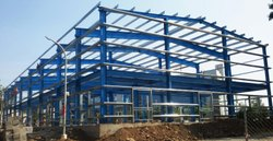 MS Panel Build Industrial PEB Structure Shed
