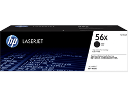 HP 56X High Yield Black Original LaserJet Toner Cartridge