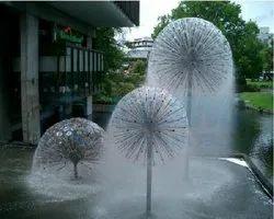 Aluminium Dandelion Fountain