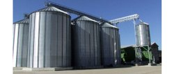 Industrial Grain Storage Silo
