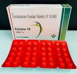 Escitalopram Oxalate Tablets I.P 10 MG.