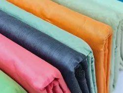 cotton plain chanderi fabric