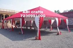 Red Farms Tent House, For Multi Use, Size: 20x40