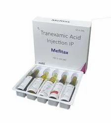 Tranexamic Acid Injection, Packaging Type: Ampoule