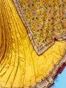 Upada Silk Embroidery Fabrics-Color