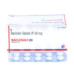 Baclofen 20 Mg Tablets