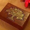 Rectangle Wooden Designer Jewellery Box, For Storage
