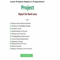 Online 1 Days Project Report Consultants, Pan India