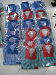 Summer Poly Cotton School Uniform Shirt