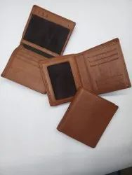 Gis Shaper Brown Leather Wallet