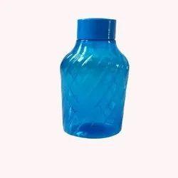 StarX Plastic Fridge Bottle Set (2 Pieces, 1L, Blue)