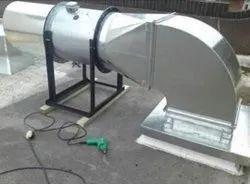 Galvanized Iron HVAC Air Duct
