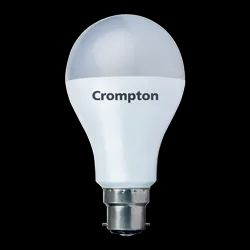 Crompton Round 9W Regular Lamp, For Home, Base Type: E27