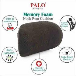 Black Memory Foam PALO027 Premium Neck Rest Cushion