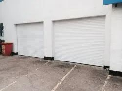 Electrically Operated Steel Rolling Shutters