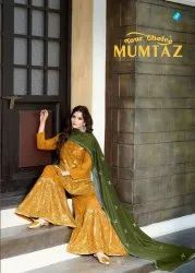 Your Choice Mumtaz Sharara Gharara Pattern Salwar Suits Catalog