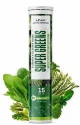 Natural Greens Effervescent Tablets