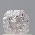 Cushion 0.70ct Faint Pink SI2 GIA Certified Natural Diamond