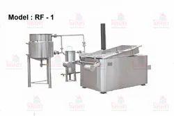 Rectangular Fryer Machine