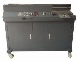 Semi Automatic Single Phase 50 R Perfect Glue Binding Machine A4 size