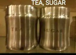 TEA,SUGAR, COFFEE CONTAINER