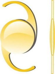 Yellow Aspheric Hydrophobic Lense