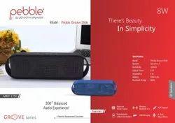 Branded Pebble Groove Slide Wireless Bluetooth Speaker