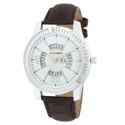 beinvaders Men Day And Date Silver And Black Strap Mens And Boy Watch, For Formal