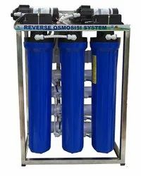 Membrane Type FRP 500 LPH Reverse Osmosis System, For Industrial
