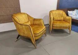Palaar Enterprises Modern Wooden Sofa Chair Set, For Home, Back Style: Cushion