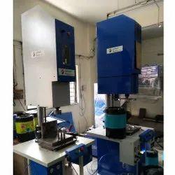 Semi-Automatic Plastic Spin Welding Machine