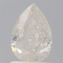 Pear 1.19ct Fancy Pink I2 GIA Certified Natural Diamond