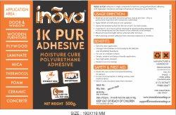 INOVA 1k Pur Polyol Adhesive, 500GM, Jar
