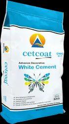 50 Kg Cetcoat DWC 917 Advance Decorative White Cement