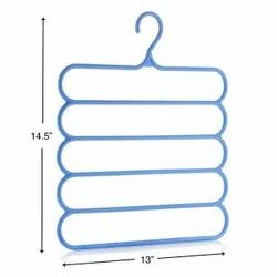 Multicolor Plastic Hangers, For Home