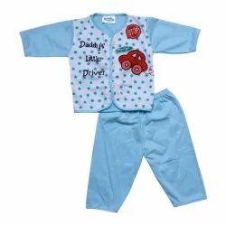 Blue Kids Casual Wear Baba Suit