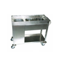 SS Kitchen Cart Trolley