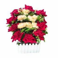 3211人造单面玫瑰花,装饰用