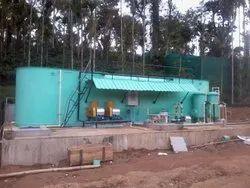Electronic Sewage Treatment Plant
