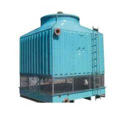 Fiberglass Reinforced Polyester Infusion Closed Loop FRP Water Cooling Tower, Natural Draft, Cooling Capacity: 60 Tr