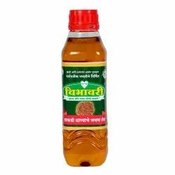 Lowers Cholesterol Vibhavari Cold Pressed Flax Seeds Oil, For Use For Cooking, Packaging Size: 1L