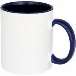 Sublimation Two Tone Blue Mugs
