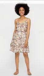 Printed Ladies One Piece Dress, Size: S-xl