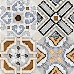 Gloss Digital Glazed Porcelain Tiles, Thickness: 8 - 10 mm, Size: Large