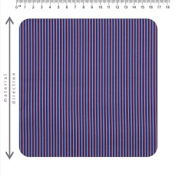 Polyester Cotton Stripe Shirting Fabric