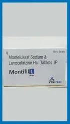 Montelukast Levocetirizine  Hydrochloride    10 mg 5 mg