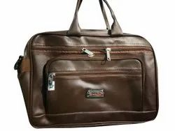 Brown Mens Leather Office Bag